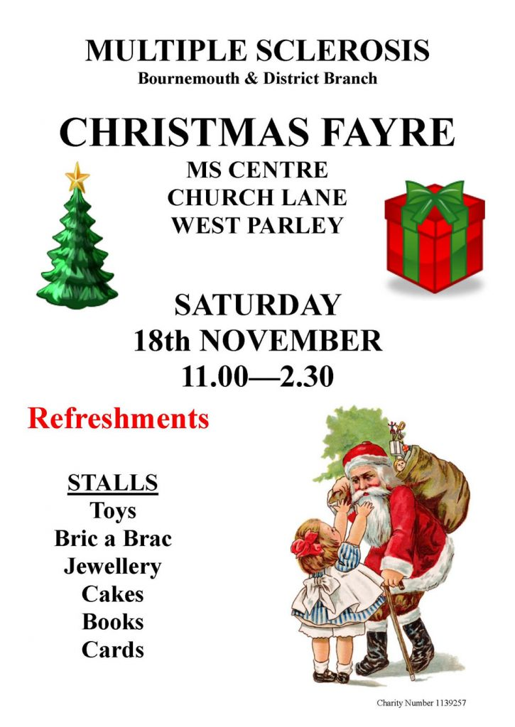 MS Bournemouth Christmas Fayre 2017