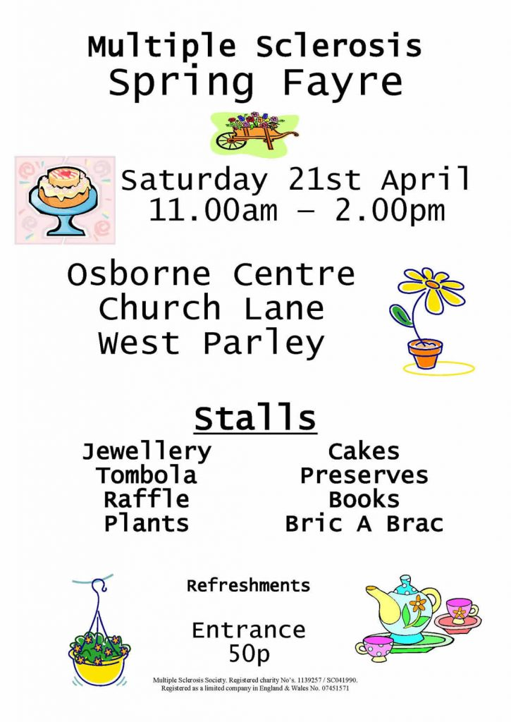 MS Bournemouth Spring Fayre 2018